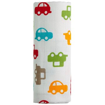 T-tomi Bambusová osuška 1 ks - auta (8594166541252)