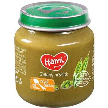 Hami Příkrm zelený hrášek 125 g (8590340156885)