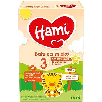Hami 12 Vanilka batolecí mléko 600 g (5900852931031)