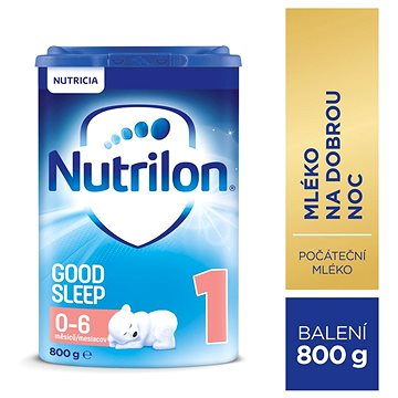 Nutrilon 1 Pronutra Good Sleep počáteční mléko 800 g (8590340134241)