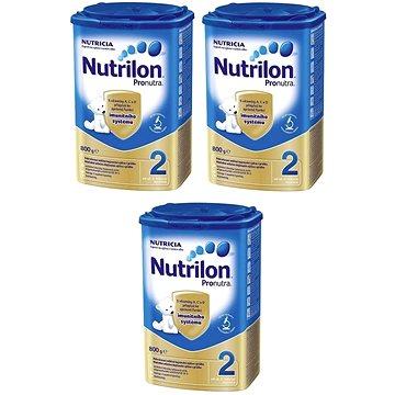 Nutrilon 2 Pronutra pokračovací mléko 3 × 800 g