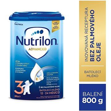 Nutrilon 3 Pronutra batolecí mléko 800 g (8590340126826)