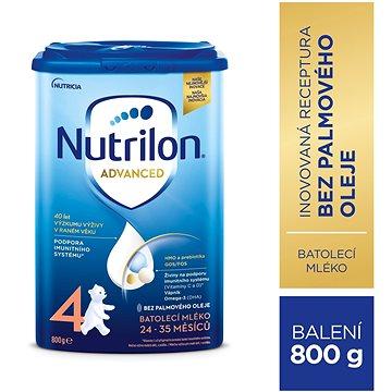 Nutrilon 4 Pronutra batolecí mléko 800 g (8590340111280)