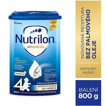 Nutrilon 4 Pronutra Vanilla batolecí mléko 800 g (8590340104053)