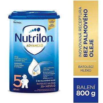 Nutrilon 5 Pronutra dětské mléko 800 g (8590340132698)