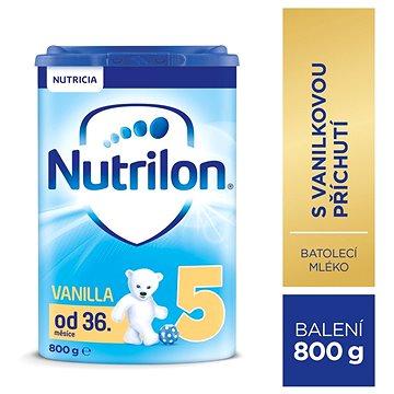 Nutrilon 5 Pronutra Vanilla dětské mléko 800 g (8718117605224)