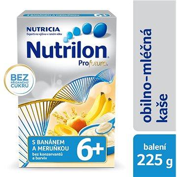 Nutrilon Profutura mléčná kaše s banánem a meruňkou 225 g, 6+ (8590340146268)