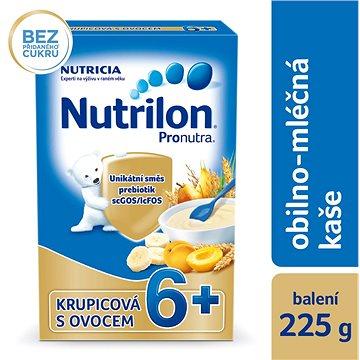 Nutrilon Pronutra mléčná kaše krupicová s ovocem 225 g (8590340146770)