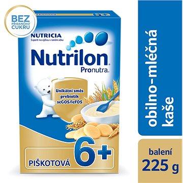 Nutrilon Pronutra mléčná kaše piškotová 225 g, 6+ (8590340146756)