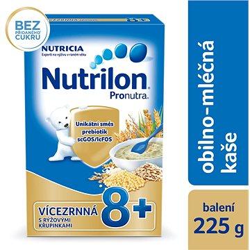 Nutrilon Pronutra mléčná kaše vícezrnná s rýžovými křupinkami 225 g (8590340104183)