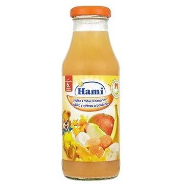 Hami Nápoj jablko s mrkví a banánem 300 ml (8591119752758)