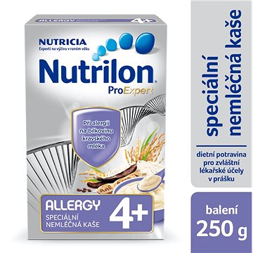 Nutrilon ProExpert Allergy nemléčná kaše 250 g, 4+ (8590340139116)