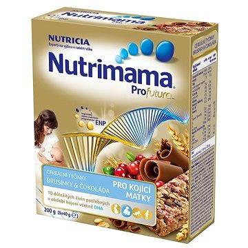 Nutrimama Tyčinky brusinky, čokoláda 200 g (8590340150081)