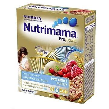 Nutrimama Tyčinky brusinky, maliny 200 g (8590340150104)