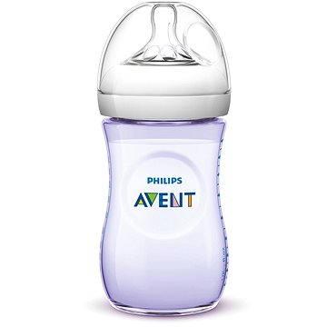 Philips AVENT kojenecká láhev Natural, 260 ml - fialová (8710103789017)