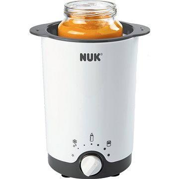 NUK Elektrická ohřívačka na kojenecké láhve Thermo 3v1 (4008600229285) + ZDARMA Dětská miska NUK Svačinový box - fialový