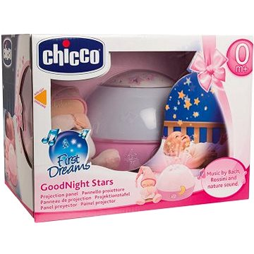 Chicco Projektor GoodNight Stars - růžový (8059147059633)