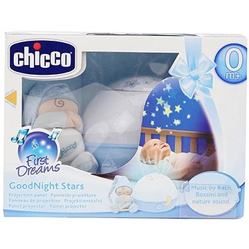 Chicco Projektor GoodNight Stars - modrý (8059147059855)