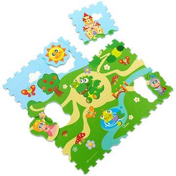 Chicco Puzzle pěnové Hrad 30 × 30 cm 9ks (8058664067244)