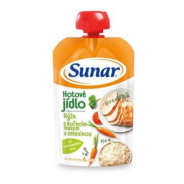Sunárek rýže s kuřecím masem a zeleninou 120 g (8592084412623)