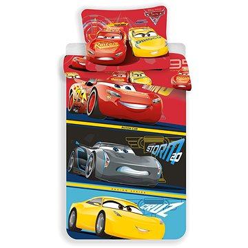 Dětské povlečení Jerry Fabrics Cars 3 (8592753010587)