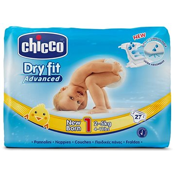 Chicco Plenky Newborn 27 ks (8058664029570)