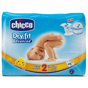 Chicco Plenky Mini 25 ks (8058664029587)