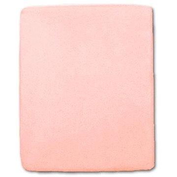 New Baby Nepromokavé prostěradlo 120 × 60 cm růžové