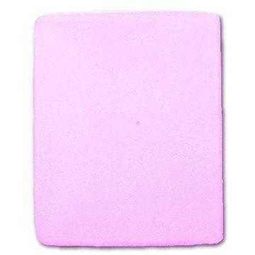 New Baby Nepromokavé prostěradlo 120 × 60 cm fialové (5907811382958)