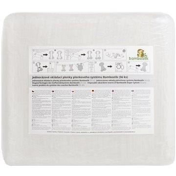 Bamboolik Jednorázové vkládací plenky SAP 56 ks (8595642912108)