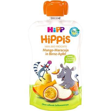 HiPP BIO 100% ovoce Hruška-Jablko-Mango-Marakuja 100 g (4062300278585)