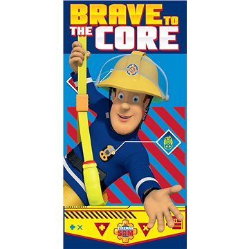 Osuška Jerry Fabrics Požárník Sam brave to core (8592753011355)