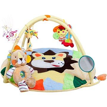 PlayTo Hrací deka s melodií PlayTo lvíče s hračkou (8596164025406)