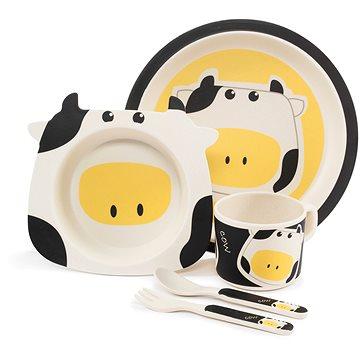 Zopa Bambusová sada nádobí - Cow (8595114432066)