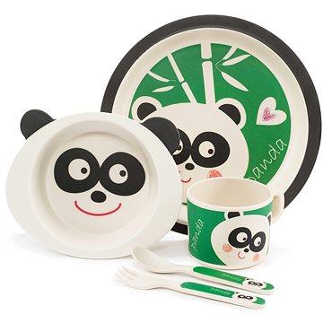 Zopa Bambusová sada nádobí - Panda (8595114434190)