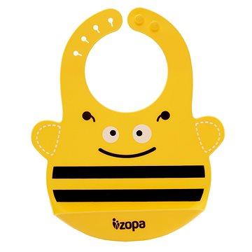 ZOPA Silikonový bryndák - Bee (8595114431861)