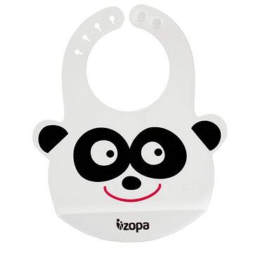 ZOPA Silikonový bryndák - Panda (8595114435142)