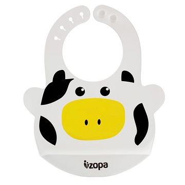ZOPA Silikonový bryndák - Cow (8595114431854)