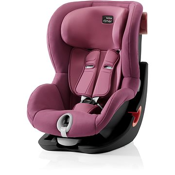 Britax Römer King II 2018, Black - Wine Rose (4000984181302)
