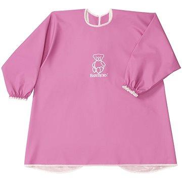 Babybjörn Zástěrka na krmení a hraní Smock Pink (7317680443892)