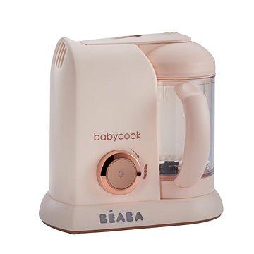 Beaba Parní vařič + mixér BABYCOOK SOLO limitovaná edice PINK (3384349125615)