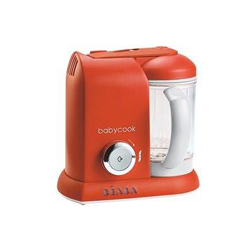 Beaba Parní vařič + mixér BABYCOOK SOLO paprika (3384349125486)