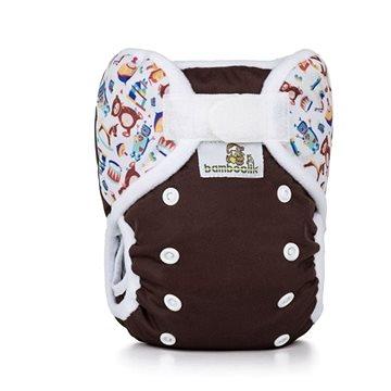 Bamboolik Svrchní kalhotky Čokoláda + Hračky (8595642915123)