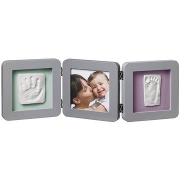 Baby Art Rámeček Double Print Frame Grey (3220660236732)