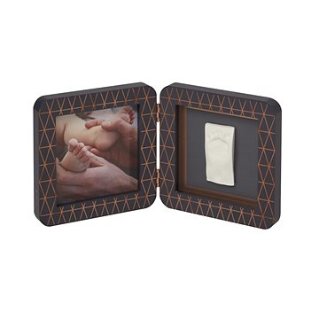 Baby Art Rámeček My Baby Touch Wood Copper Edition Dark (3220660292479)
