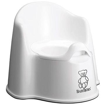 Babybjörn nočník křesílko bílé (7317680551214)