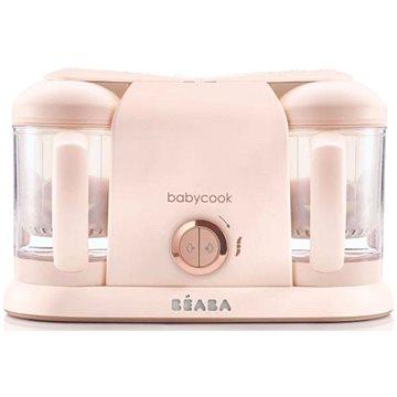 Beaba Parní vařič + mixér BABYCOOK PLUS Rose Gold (3384349125905)