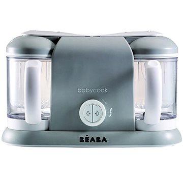 Beaba Parní vařič + mixér BABYCOOK PLUS šedý (3384349124649)