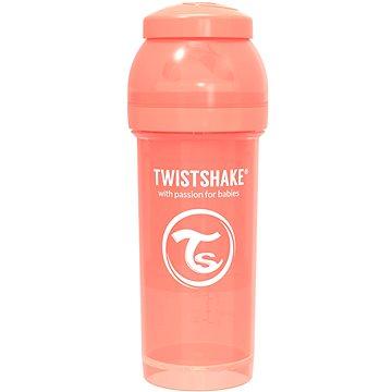 TWISTSHAKE Anti-Colic 260 ml - broskvová (7350083123145)