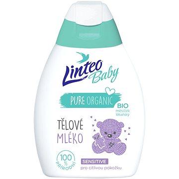 LINTEO BABY Tělové mléko s BIO měsíčkem lékařským 250 ml (8594158373519)